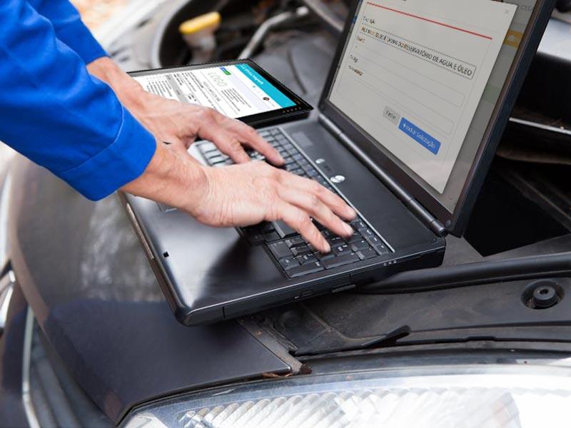 Controle total para sua reparadora de veículos. oficina de motos, veiculos da linha leve e pesada